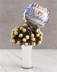 flowers: Happy Birthday Chocolate Bouquet!