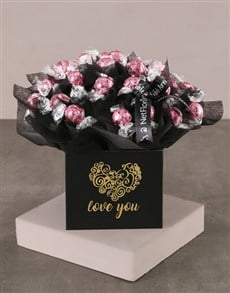 flowers: Love You Strawberry Lindt Bouquet!