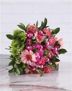 flowers: Think Pink Edible Arrangement!