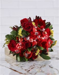 flowers: Red Delight Edible Arrangement!