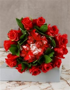 flowers: Red Is The Colour Of Love Edible Bouquet!