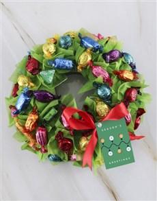 flowers: Seasonal Chocolate Wreath!