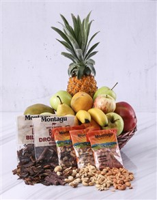 flowers: Fruit and Snack Basket!