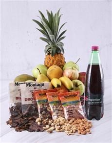 flowers: Snack Essentials Fruit Basket!