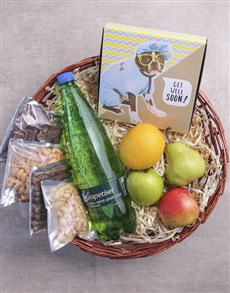 Picture of Fruity Basket Of Get Well Delights!