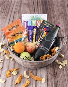 flowers: The Sweet Fruit Basket!