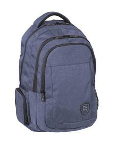 brand: Cellini Uni King Multi Pocket Backpack Blue!