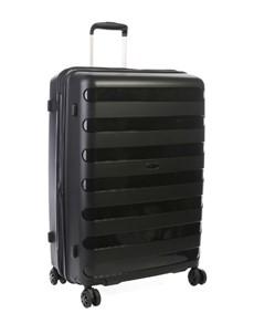 brand: Cellini Sonic Check In Wheel Trolley Black Large!