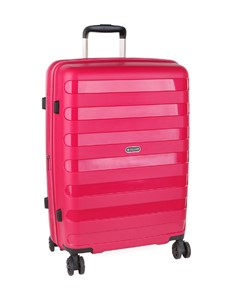 brand: Cellini Sonic Check In Wheel Trolley Pink!