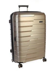 brands: Cellini Microlite Wheel Trolley Case Gold!