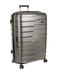 brands: Cellini Microlite Wheel Trolley Case Charcoal!