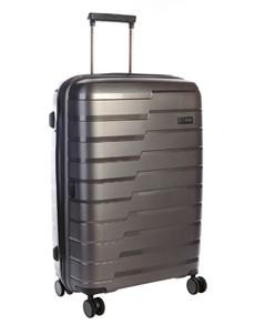 brands: Cellini Microlite Xpander Trolley Case Charcoal!