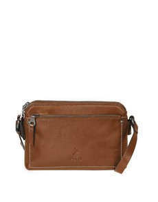 brands: Polo Cairo Sling Handbag Chestnut!