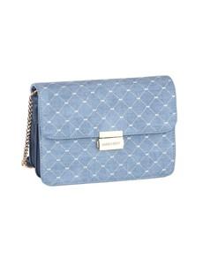 brands: Sissy Boy Printed Denim Sling Handbag Blue!