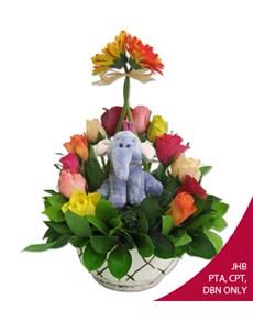 flowers: Lumpy!