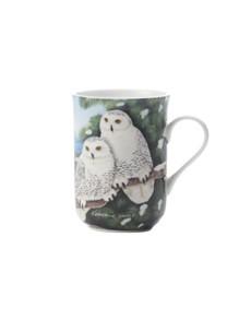 brand: Maxwell & Williams Birds Snowy Owls Gift Mug!