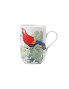 brand: Maxwell & Williams Birds Scarlet Macaws Mug!