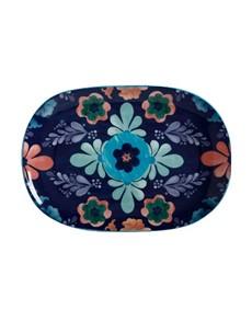 brand: Maxwell & Williams Majolica Blue Large Platter!