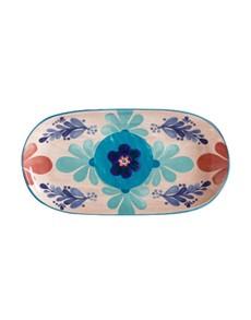 brand: Maxwell & Williams Majolica Peach Oblong Platter!