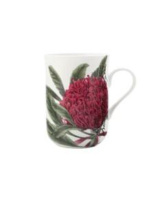 brand: Maxwell & Williams Botanical Mug Telopea!