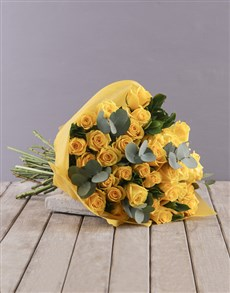 gifts: Yellow Roses Bouquet!