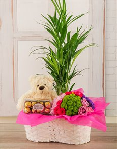 flowers: Happiness Gift Basket!