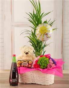 flowers: Lift the Spirits Plants Basket!