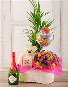 flowers: Congratulations are in order Plant Basket!