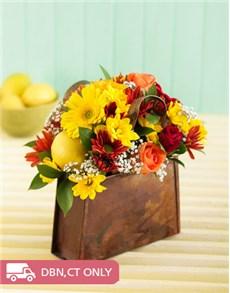 gifts: Handbag of Flowers!