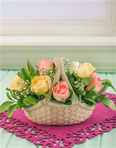flowers: Assorted Sprays in a Glass Vase!