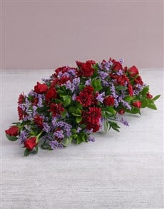 flowers: Red Roses and Sprays Arrangement!
