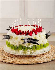 flowers: Birthday Surprise Flower Cakes!