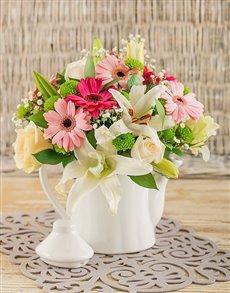 flowers: Tea Time Delight!