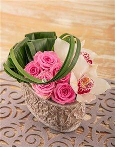 gifts: Edith Venter Pink Passion Flower Arrangement!