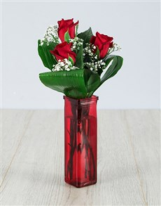 flowers: The Beauty Of Love Rose Vase!