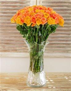 flowers: African Sunrise Arrangement!