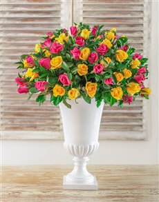 flowers: Blooming Beautiful Arrangement!