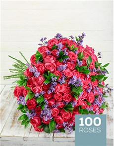 flowers: Shades of Cerise Pink Bouquet!