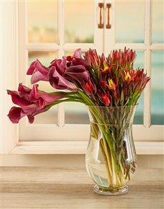 flowers: Radiant Lily Arrangement!