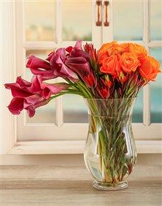 gifts: Adore Arum Lily Arrangement!