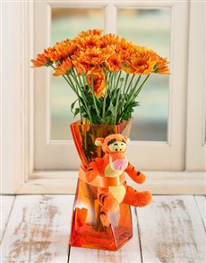 flowers: Tigger Twisty Vase!