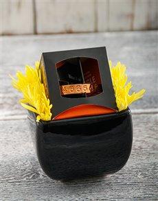flowers: Yellow 46664 Flower Vase!