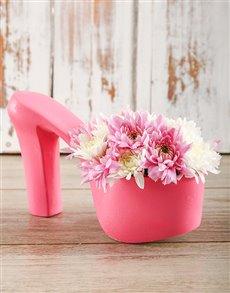 flowers: Daisy Choo Shoes!