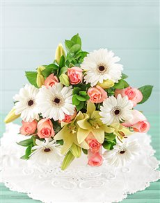 flowers: Tranquility Bouquet!