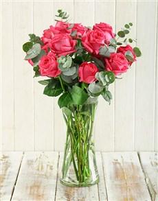 flowers: Pink Romance Arrangement!