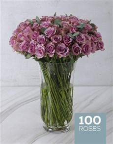 flowers: Light Purple Extravagance Arrangement!