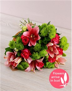 gifts: Lily and Rose Bouquet!
