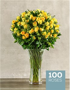 gifts: Yellow Rose Abundance!