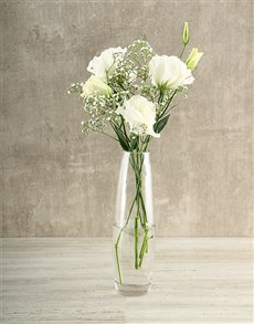 flowers: White Magic Vase!
