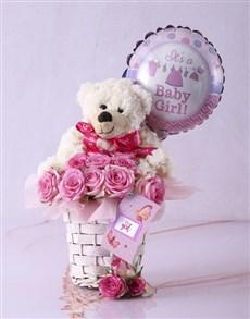 gifts: Baby Girl Fantasy Basket!